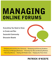 Managing Online Forums Cover