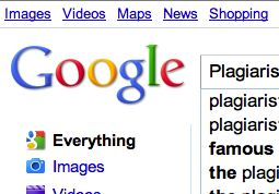Google Cracking Down on Plagiarists? Image