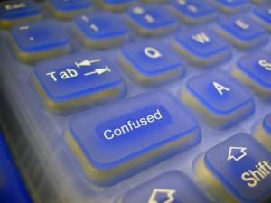 Confused Keyboard Image