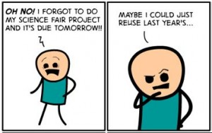 Cyanide and Happiness Self Plagiarism