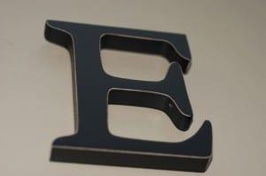Letter E Image