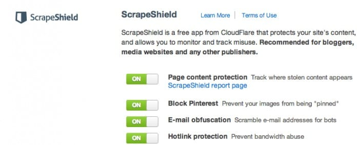 Review: ScrapeShield by Cloudflare - Plagiarism Today