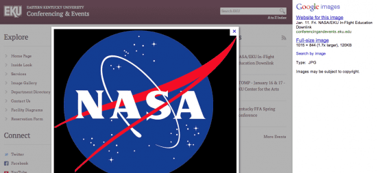 NASA Google Search 2