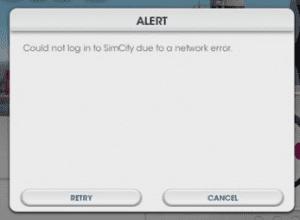 Simcity Error
