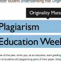 PT Sponsors Plagiarism Education Week
