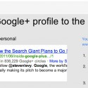 Can Google Authorship Help Fight Plagiarism?