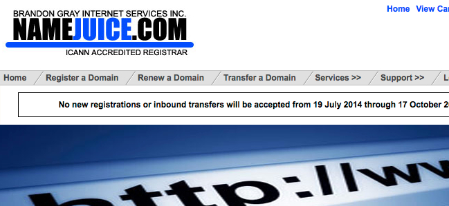 Domain Registry Of America Suspended Plagiarism Today