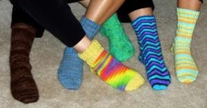 Knitted Socks Image