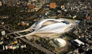 Japanese Olympic Stadium Image
