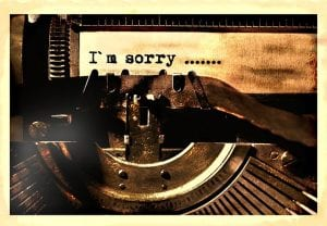 Apology Letter