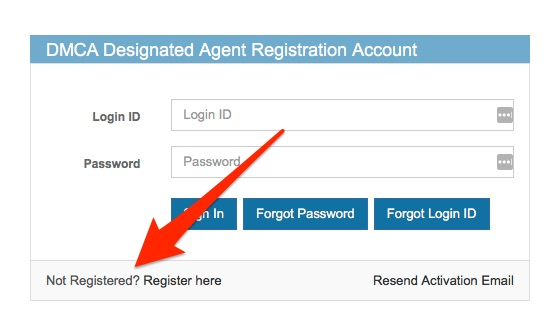 DMCA Register Image 1