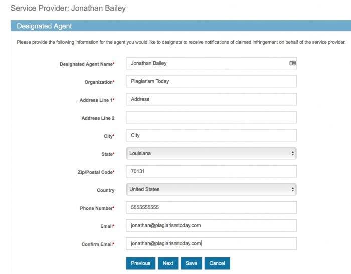 DMCA Registration Image 5