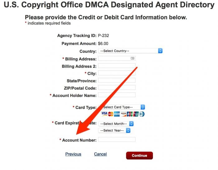 DMCA Registration Image 8