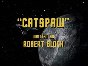 Star Trek Catspaw Title Card