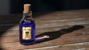 Poison bottle image