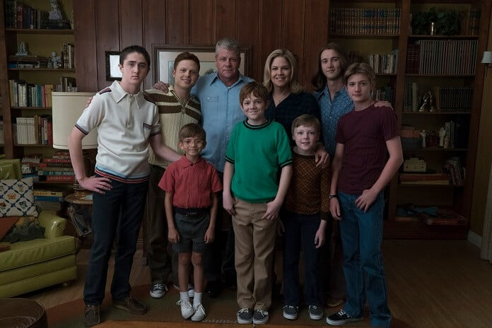 Cast photo from The Kids Are Alright