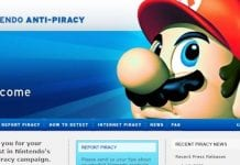 Nintendo Piracy Homepage Image