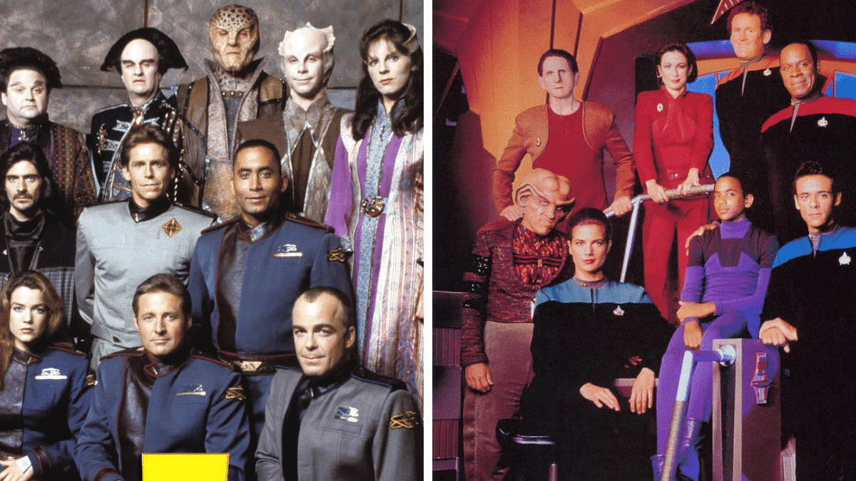 Understanding the Babylon 5 vs. Deep Space Nine Plagiarism Allegations Image