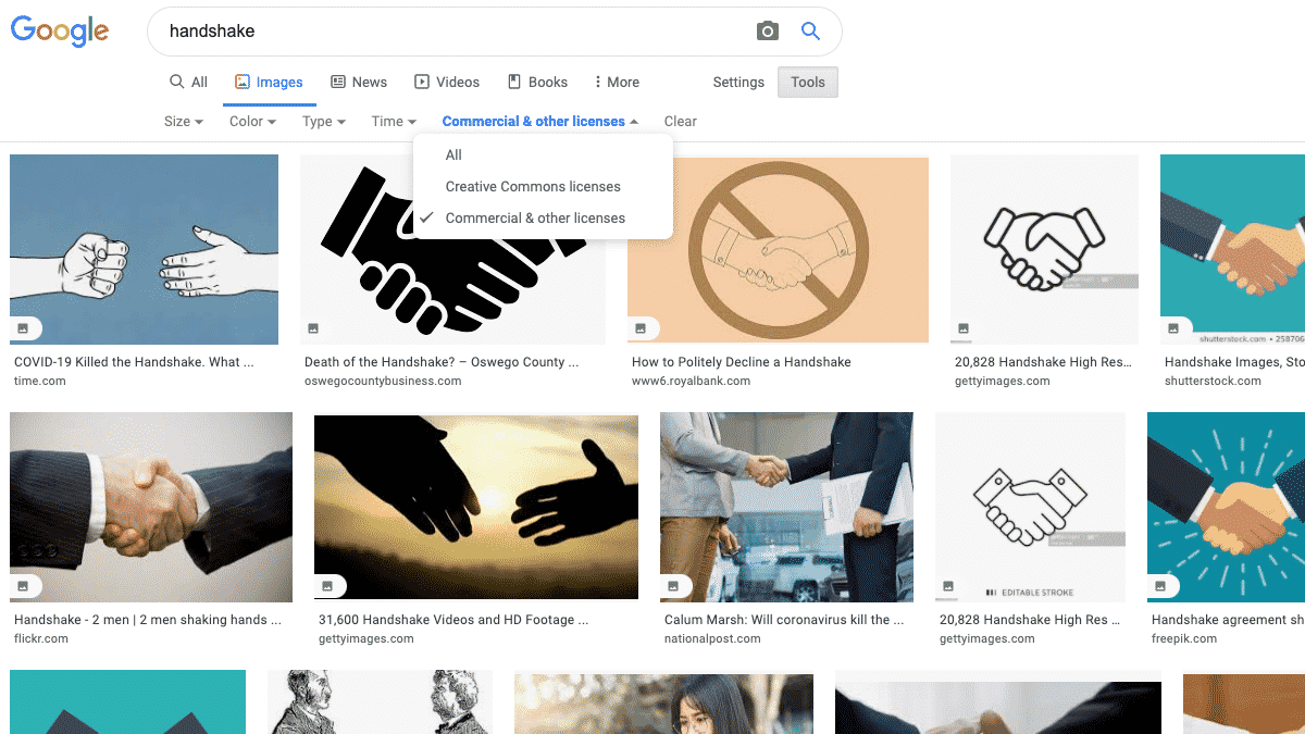 Google Makes it Easier to Find Licensable Images Image